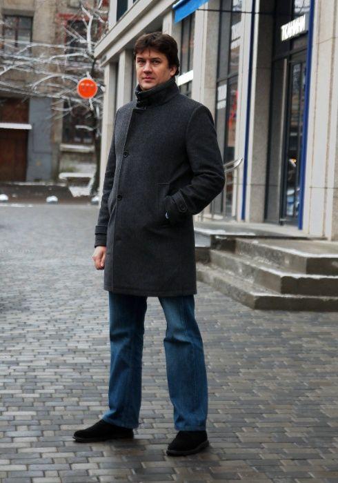 Новое теплое мужское пальто Днепр - изображение 1