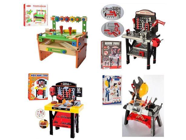 Большой Выбор набор детских инструментов на стойке дрель в чемодане