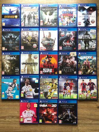 130 Gry PlayStation 4 Ps4 Pro Nowe oraz jak Nowe Tytuły CZYTAĆ OPIS