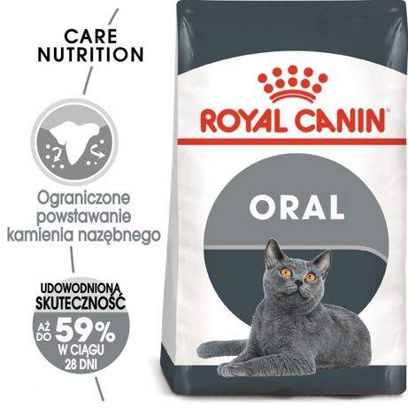 Royal Canin CARE ORAL 8 kg kurier GRATIS