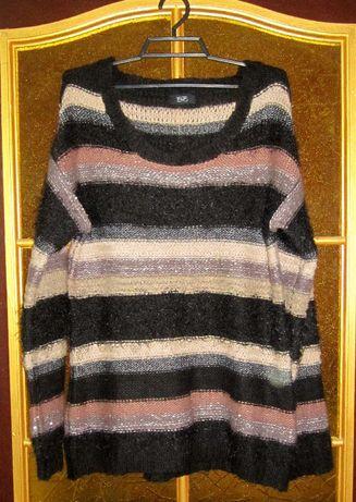 теплый женский джемпер-48-50 размер