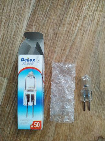 Бытовая галогенная лампа капсула G5.3 50 Вт и 35 Вт Delux JC