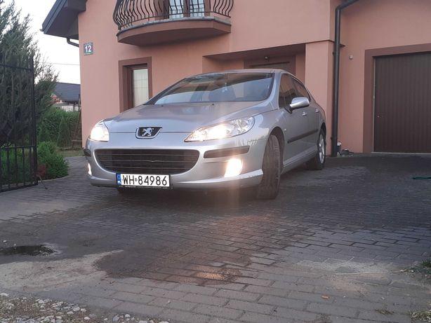 Peugeot407,1.6110km2008r,salonowy,127tyś,org lakier.