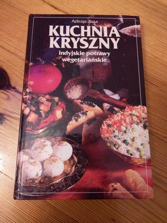 Kuchnia Kryszny indyjskie potrawy wegetariańskie Adiraja dasa