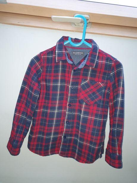 Koszula w kratkę rozmiar 104