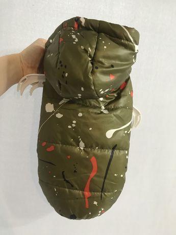 Nowa ocieplana kurteczka dla psa L 29 cm