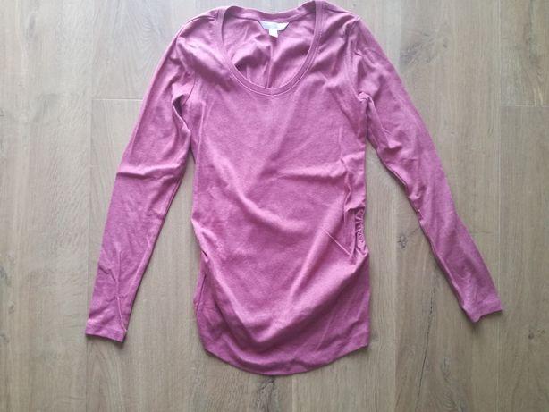 Sweter ciążowy bluzka top. H&M mama. Różowy. R. S/M/36/38.