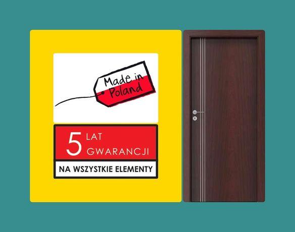 Drzwi zewnętrzne-WEJŚCIOWE do mieszkania w bloku-domu z montażem.