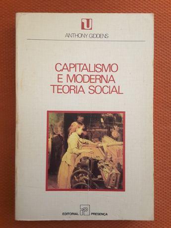 Giddens: Capitalismo / Ciências Sociais (Jorge Dias-Veiga de Oliveira)