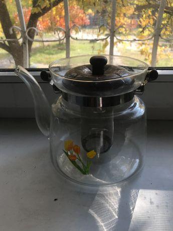 Чайник заварник новий