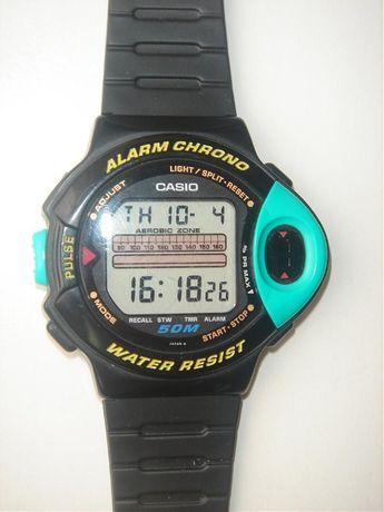Zegarek CASIO JP-200W Monitor pracy serca-Retro-lata '90 oryginalna in