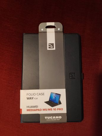 Capa da Tucano Way para Huawei Mediapad M5 10''/ M5 Pro 10'' - Preto