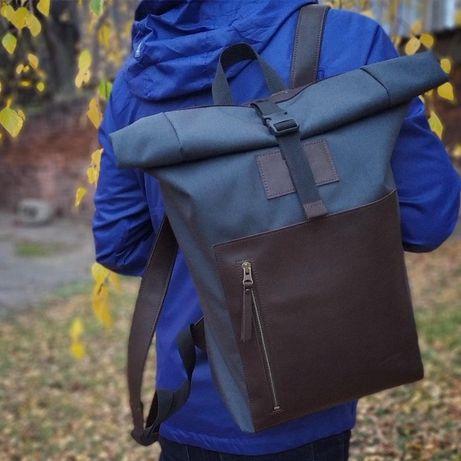 Рюкзак Roll-top city bag городской рюкзак лучший подарок