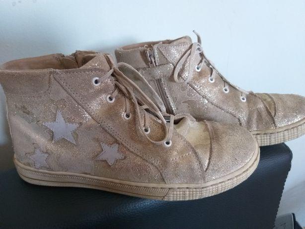 Markowe buty dla dziewczynki Ren But rozm. 36 - komfort noszenia.