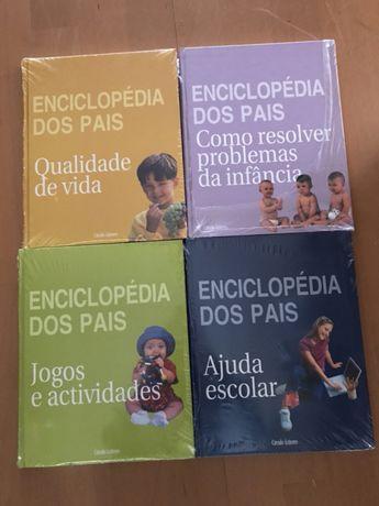 """Livros """"Enciclopédia dos Pais"""""""