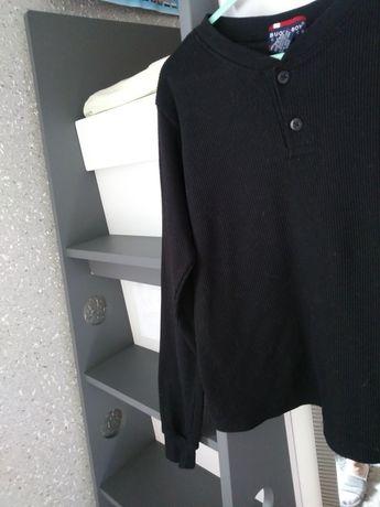 Czarna chłopięca bluzka