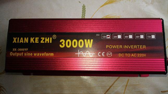 inventer przetwornica 12V/220V czysty sinus