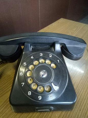 Телефон старинный. Ретротелефон. Карболит.BUDAVOX, Венгрия.