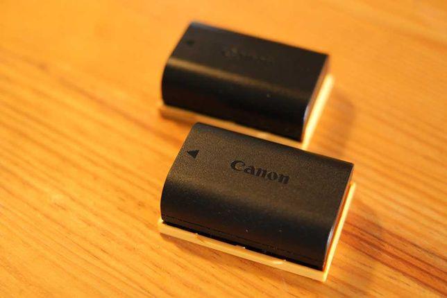 CANON 2x Bateria LP-E6N (com pouco uso)