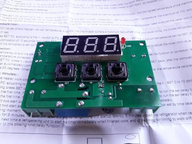 Цифровой регулятор температуры 12В 10А