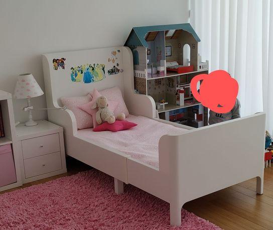Cama IKEA extensível para criança