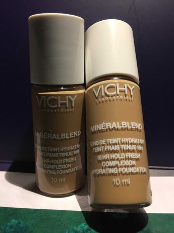 Тональний крем Vichy Mineralblend Cream Зволожуючий, 09 Agate-10мл