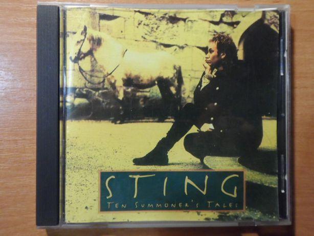 "STING ""Ten Summoner's Tales"" (1993 A&M Records), pop-rock"