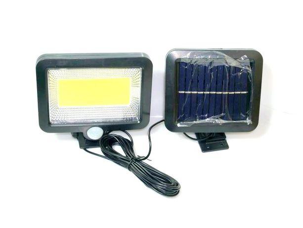 Lampa Solarna 100LED Czujnik ruchu zmierzchu