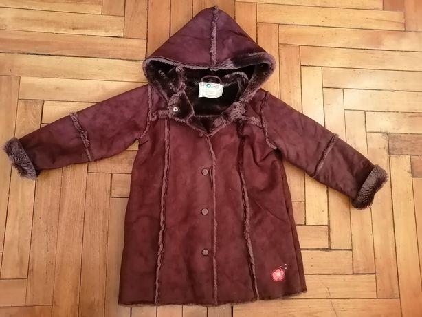 Демисезонное пальто-куртка для девочек