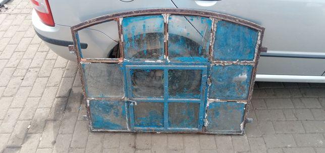 Zabytkowe okna industrialne.Łukowe.Loft.
