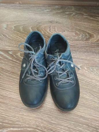 Туфлі шкіряні підліткові