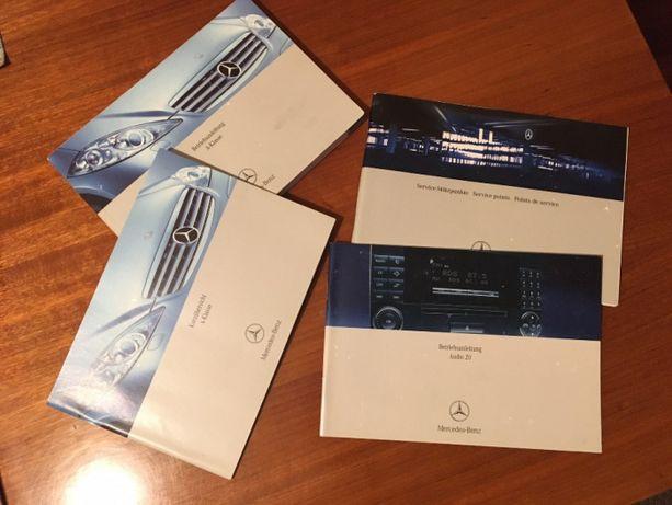 Catálogo / Livro de instruções Mercedes Classe A W169