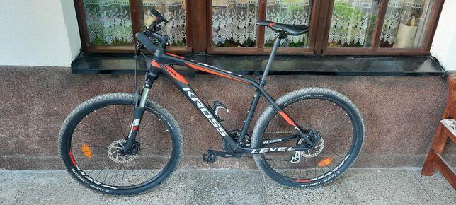 rower KROSS LEVEL 1.0 MTB koła 27.5 rama M JAK NOWY na gwarancji