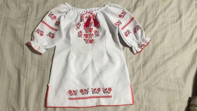 Вышиванка платье - кофта