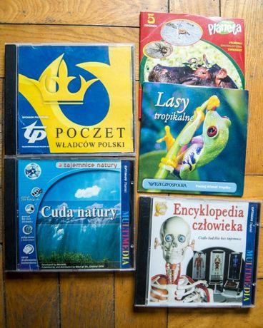 CD płyty instruktażowe, sport, dla dzieci