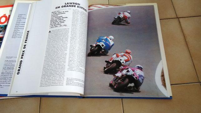 Livro Motos 1989 / 1990