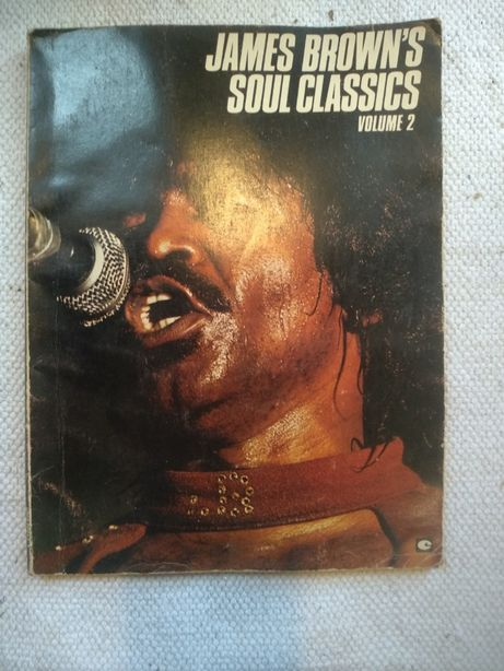Livro songbook James Brown Soul Classics