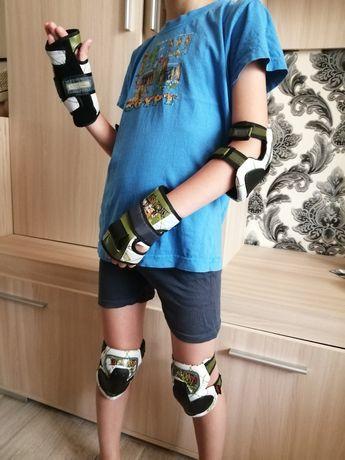 Захисний комплект для роликів, скейта, велосипеда