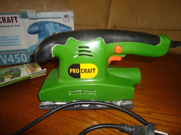 Плоскошлифовальная машинка PROCRAFT PV450