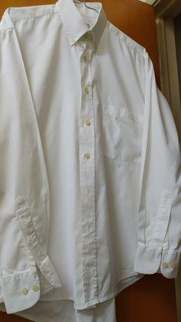 Camisa original James Harvest cor branco tamanho S (grande)