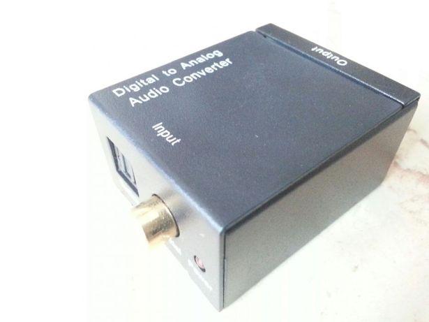 Conversor áudio optico/digital em analógico