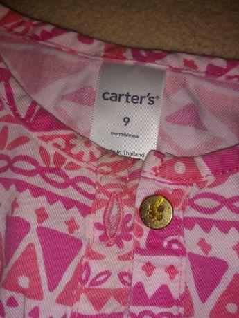 Летний комбинезон Carters Картерс 9 мес