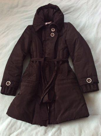 Куртка теплая черная женская