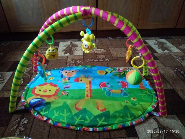Дитячий коврик новий
