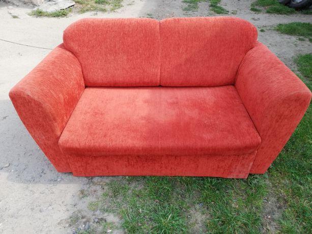 Sofa fotel rozkładany wypoczynek kanapa