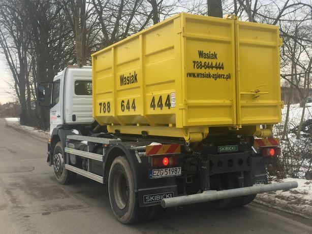 Wywóz kontenerowy gruzu i odpadow pobudowlanych worki big bag !!