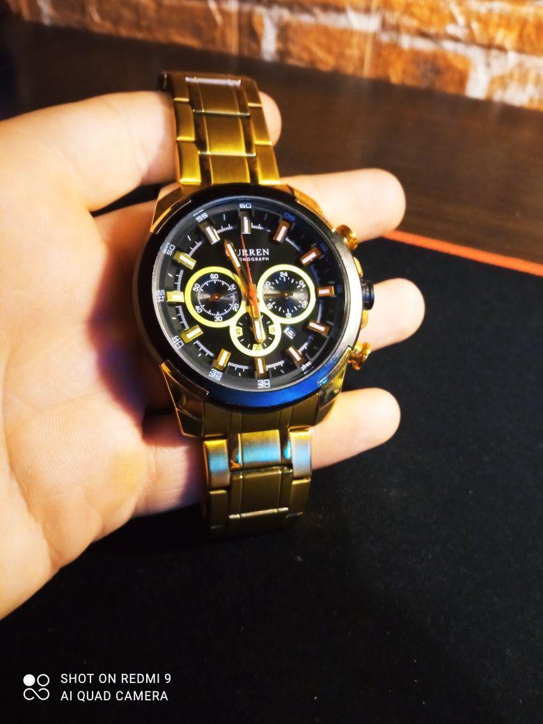 Zegarek Curren Japan gold super jakość!