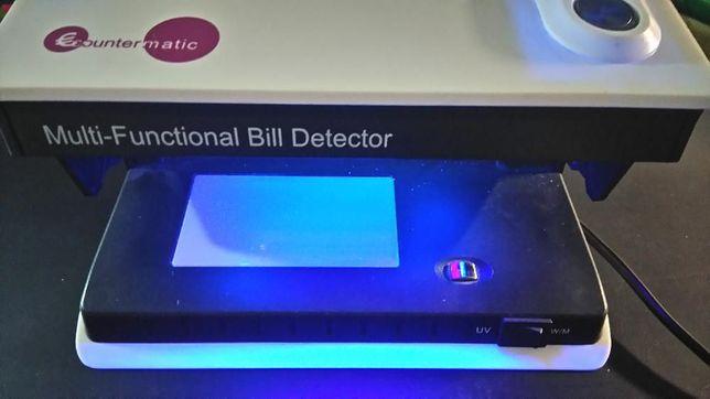 Detector de notas falsas UV