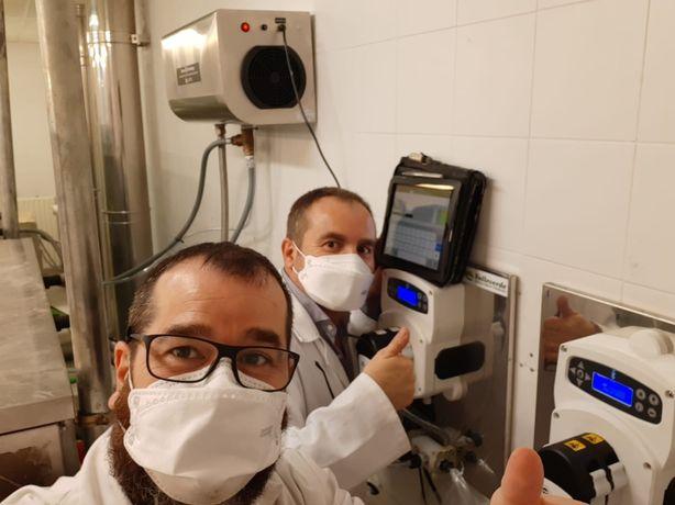 Equipamento de lavandaria com desinfecção Covid-19 self service lares