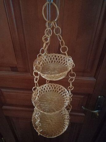 Плетеная корзина фруктовница, конфетницы